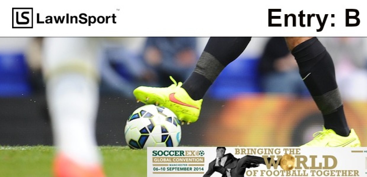 Refusal to delivery the ITC in international transfers of football players and free movement of workers within the EU - Entry B
