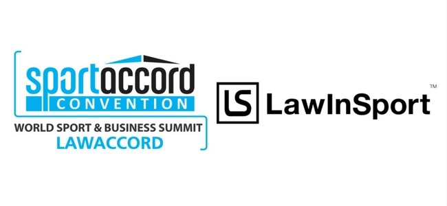 SportAccord, LawAccord, and LawInSport Logos