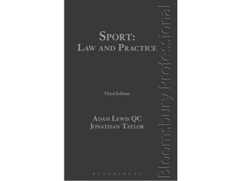 Sport- Law and Practice Third Edition
