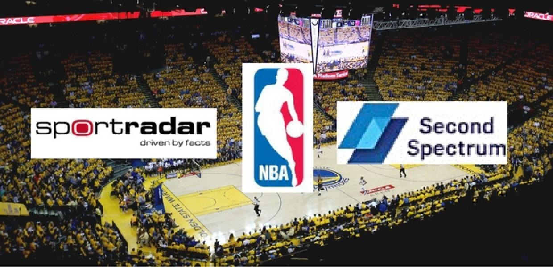 NBA announces multiyear partnership with Sportradar and Second Spectrum