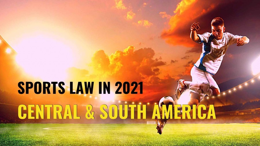 Title image of football player - Sports law in 2021 – key issues to watch in South America