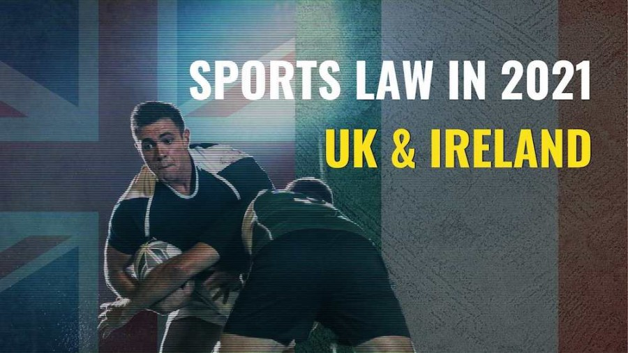 Title image of rugby player - Sports law in 2021 – key issues to watch in UK & Ireland