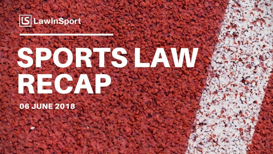 Sports Law Recap