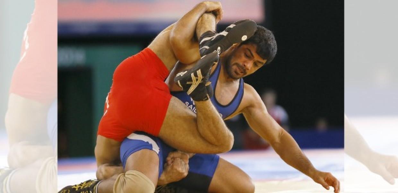 Sushil_Kumar_Wrestling