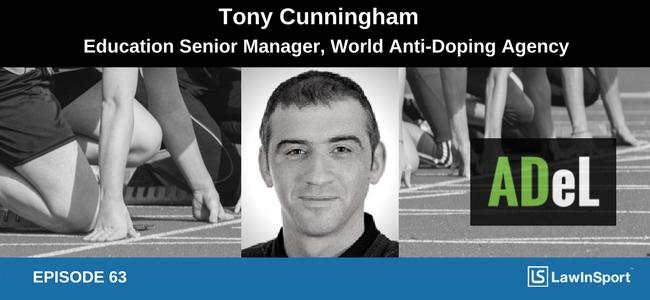 Tony Cunningham, WADA