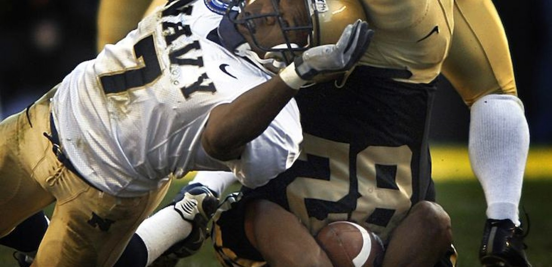 US Navy American Football Tackle