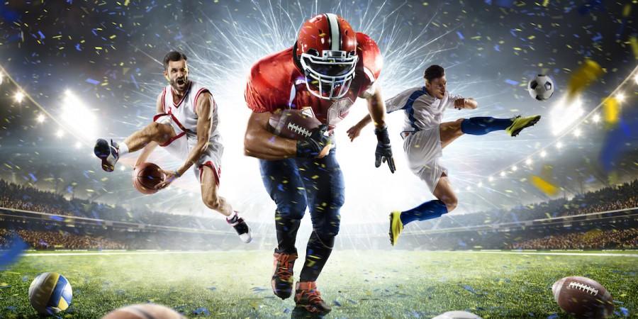 US sports on field