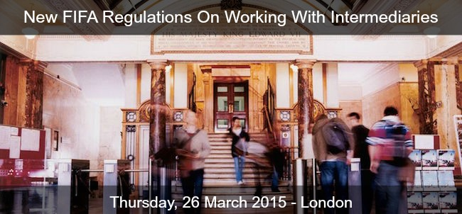 New FIFA Regulations On Working With Intermediaries