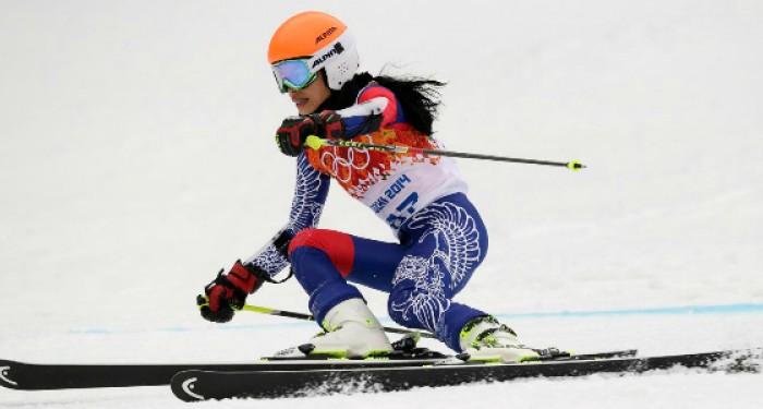 Vanessa Mae Sochi 2014