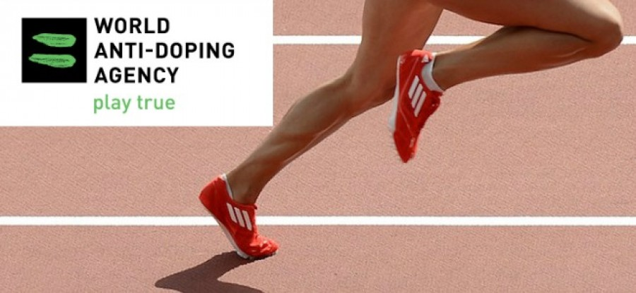 WADA Logo with runner