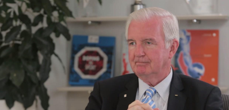 WADA Talks with Sir Craig Reedie
