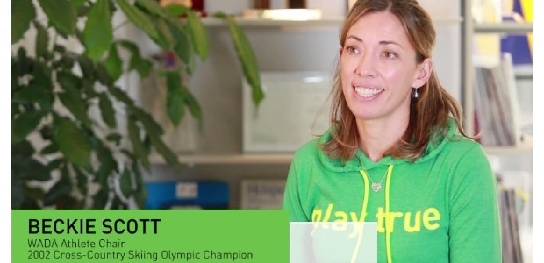 WADA talks with Beckie Scott