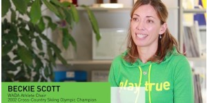 WADA talks with Beckie Scott