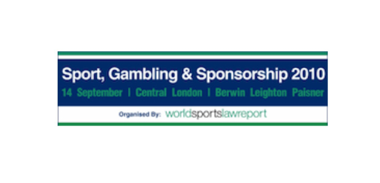 Review: Sport, Gambling and Sponsorship Conference