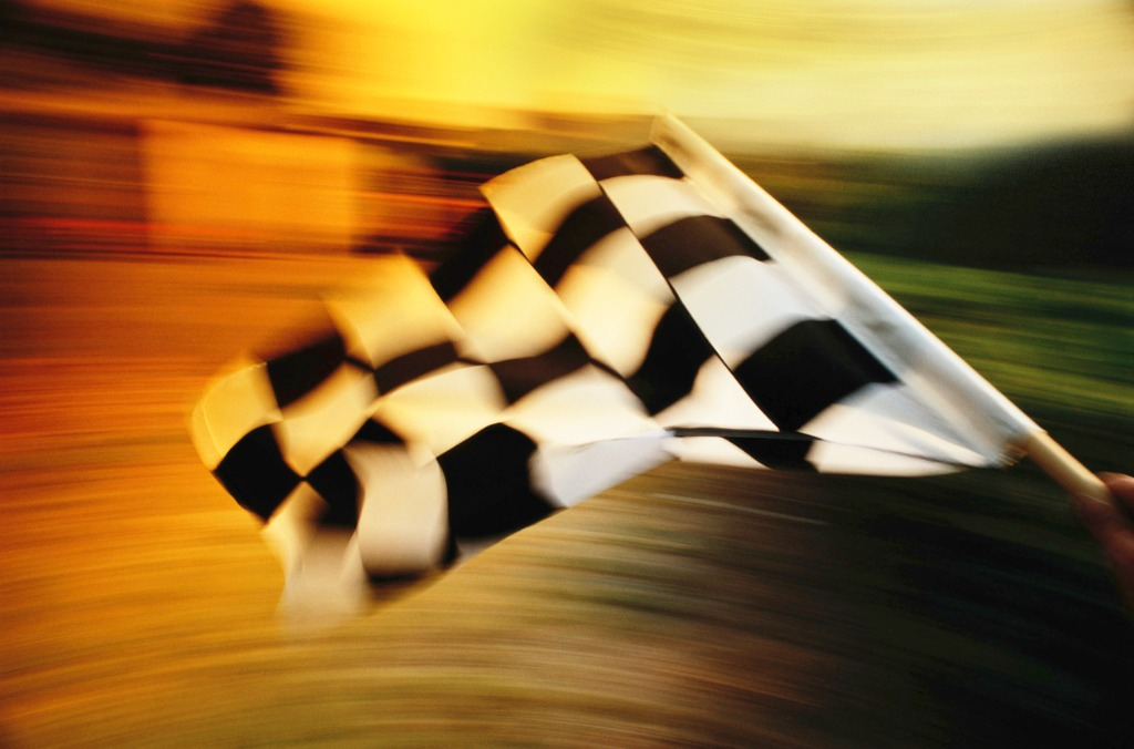 Chequered Flag Waved