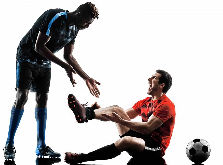 Footballers Injury