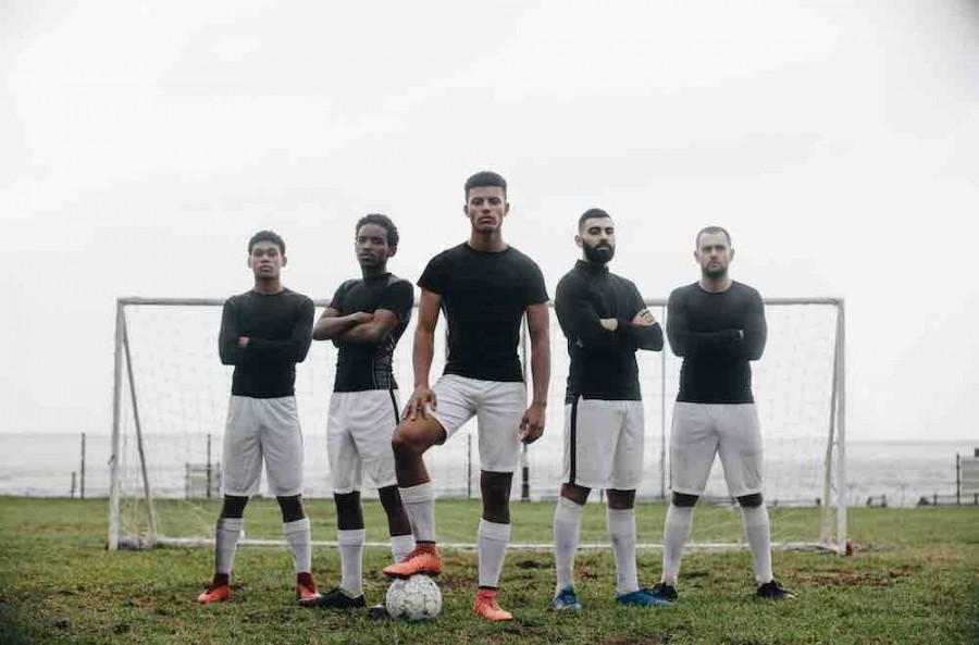 International football players