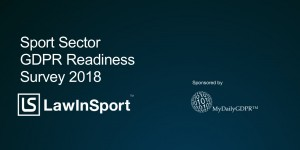 Sport Sector Readiness Survey 2018 Cover Image