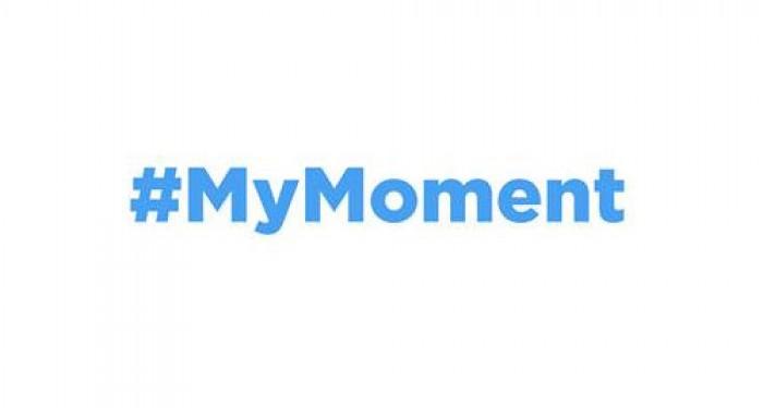 #MyMoment Logo