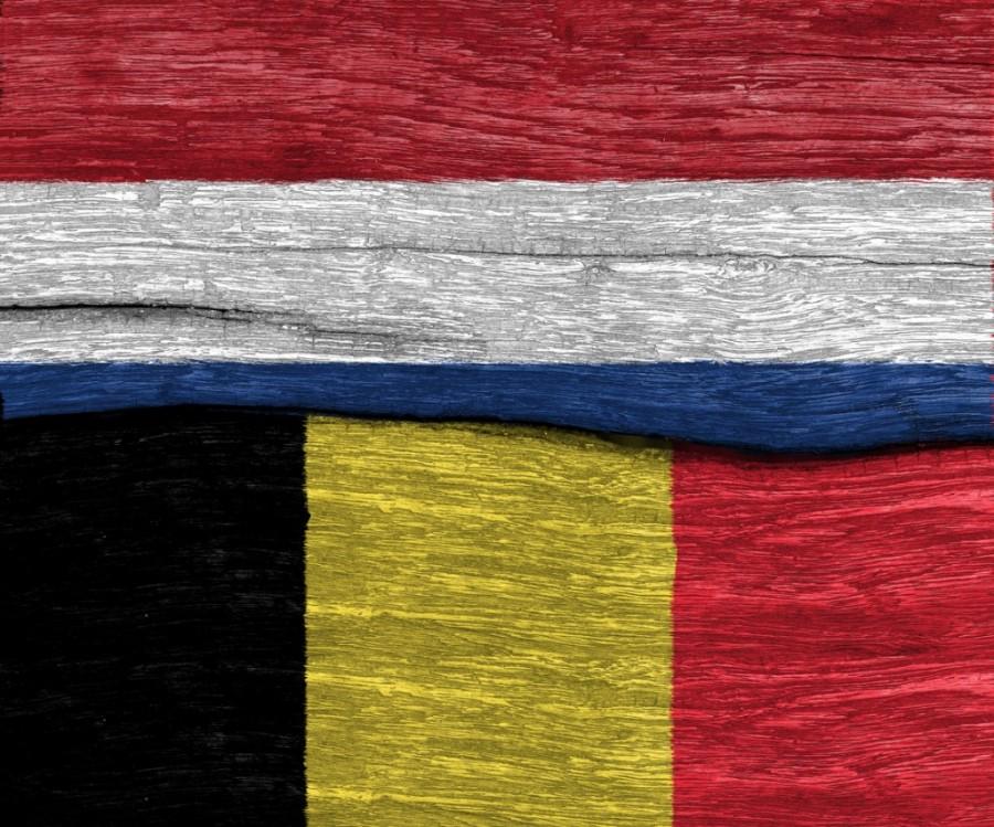 Belgium and Netherlands flag
