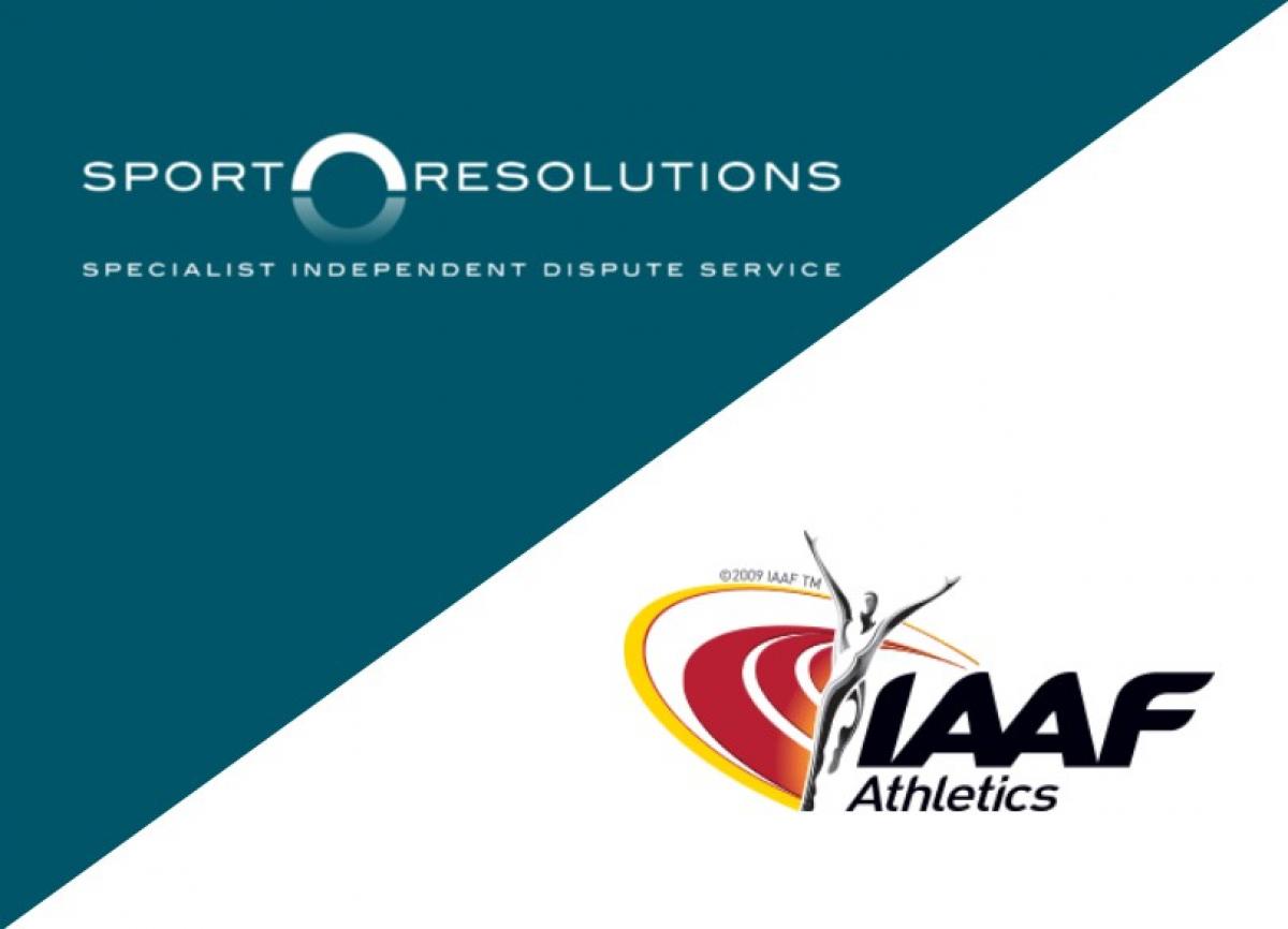 Sport Resolutiosn and the IAAF