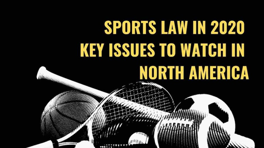 Title image Sports law in 2020 - key issues to watch in North America