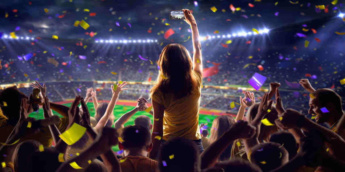 Sports fan tech